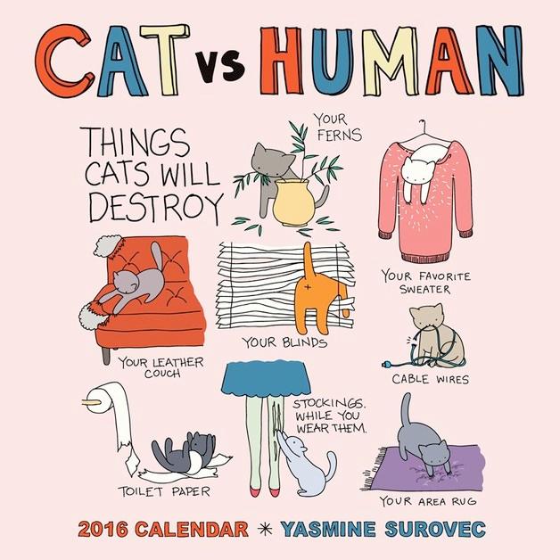Cat-vs-Human-Calendar