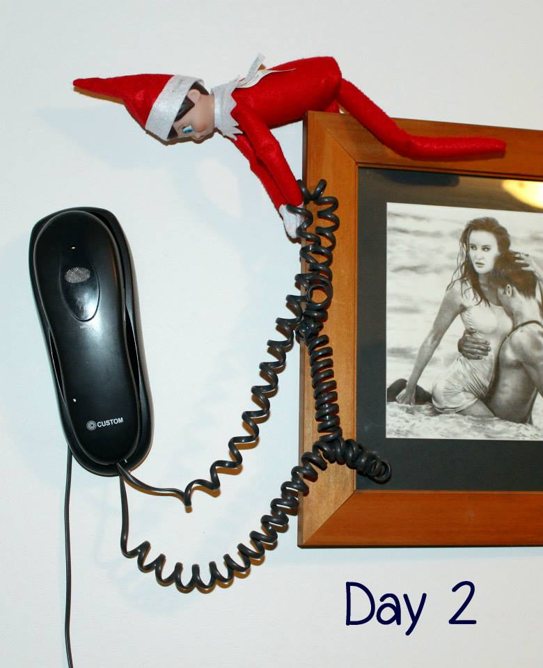 Elf on the Shelf Day 2