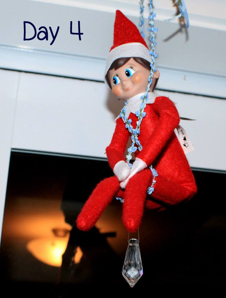 Elf on the Shelf Day 4